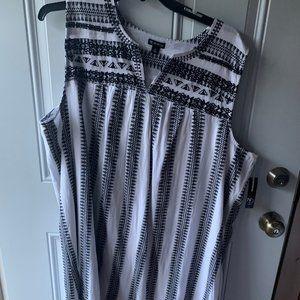 Women's Pullover Dress Size 3X BNWT